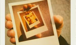 An Escher-style Polaroid photo