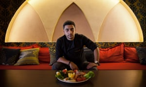 'I grew up with a mum who loved cooking': Hassan Assi opened his own restaurant in the Athens suburb of Glyfada.