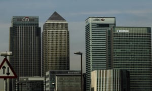 Offices for Citibank, HSBC and Barclays banks in Docklands.