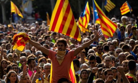 'We are with you Catalunya' – the revolt in Spain is bigger than flags and language