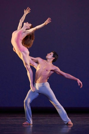 Marianela Nuñez and Thiago Soares in After the Rain.