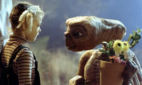 Spielberg's 1982 film ET.