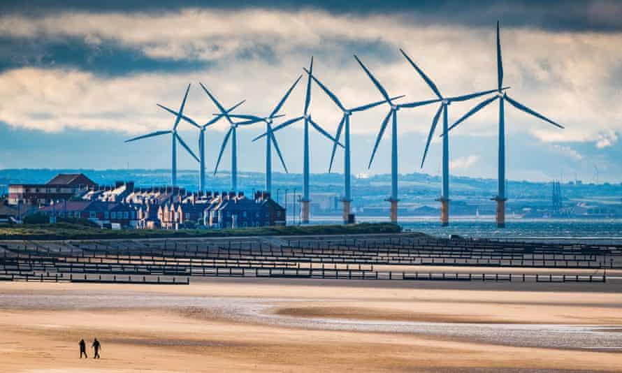 Teesside Windfarm, near Redcar