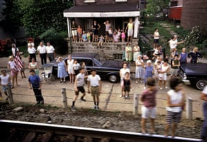 From the Robert Kennedy funeral train series