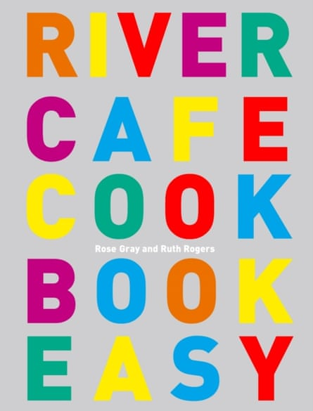 Recommended by Stevie Parle … River Cafe Cook Book Easy.