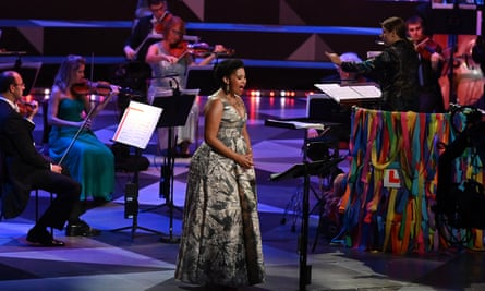 Rule, Britannia! lyrics sung at Last Night of the Proms after BBC U-turn | Proms  2020 | The Guardian