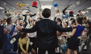 The Wolf of Wall Street immersive theatre production