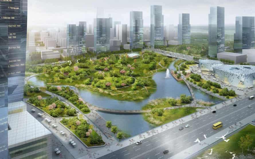 Xinyuexie Park, Wuhan