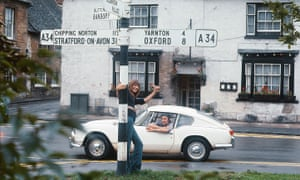Jane Birkin and Serge Gainsboug in Oxfordshire