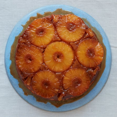 Liam Charles' pineapple upside-down cake