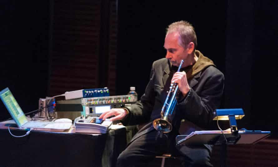 Jon Hassell performing in New York in 2009.
