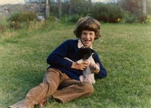 Harry Borden as a child