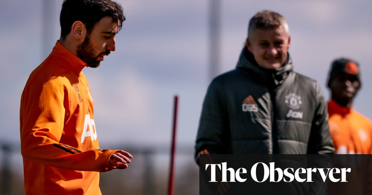Solskjær can take heart from Manchester United's upward curve   Jamie Jackson