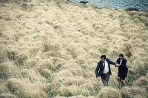 With Colin Farrell in Yorgos Lanthimos's The Lobster