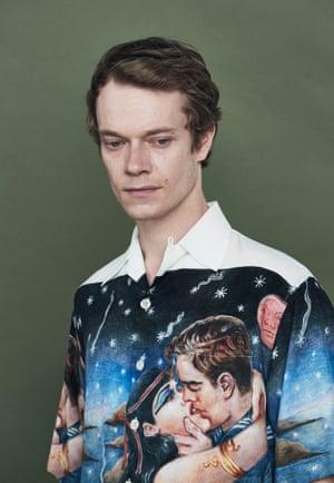 Alfie Allen fashion shoot