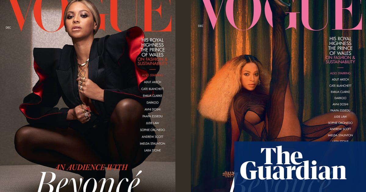 Beyoncé covers December issue of British Vogue
