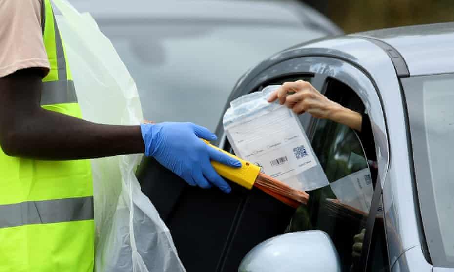 Coronavirus testing in London