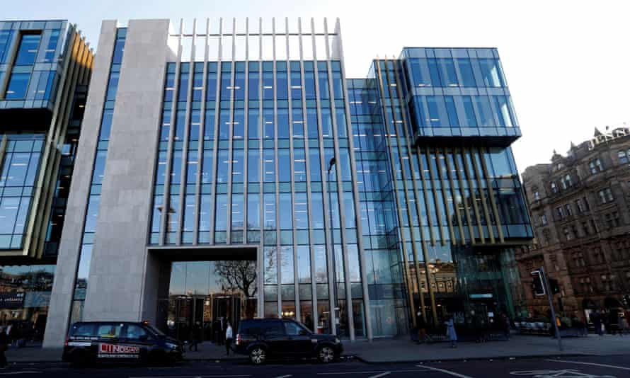 The offices of Standard Life Aberdeen in St Andrew Square, Edinburgh.