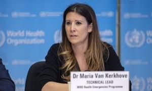 Maria Van Kerkhove shares the latest information on the virus.