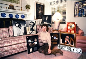 'All writers are scumbags' … María Elena Holly, Buddy Holly's 'widowed bride'