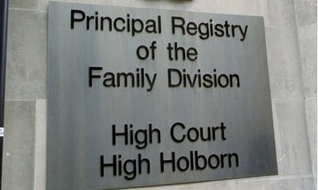 The ruling was handed down in the family division of the high court.