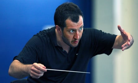 Composer and conductor Thomas Adès.