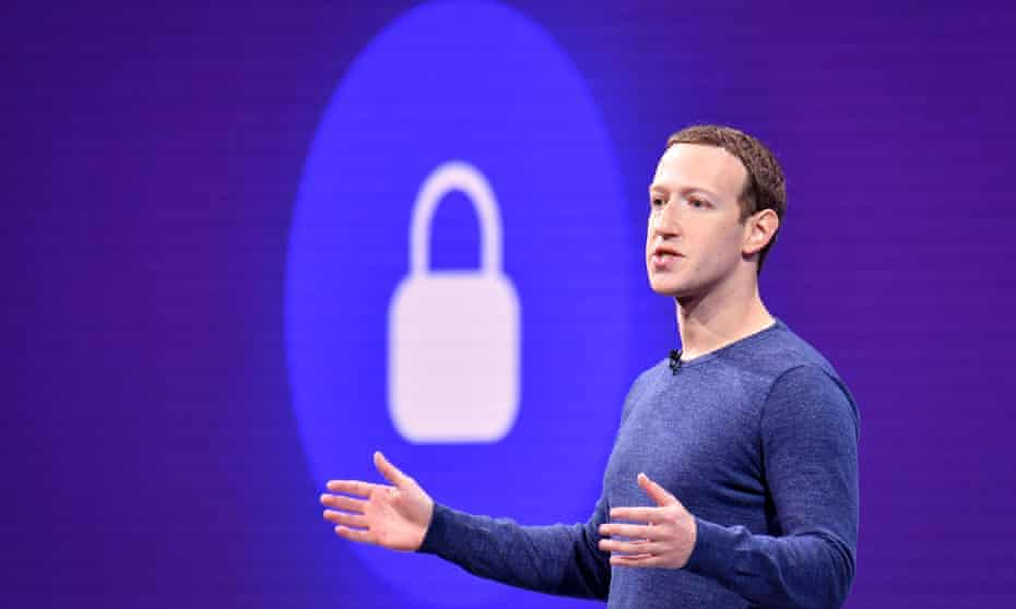 Facebook CEO Mark Zuckerberg, pictured on 1 May 2018.