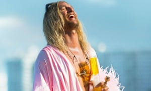 Matthew McConaughey in The Beach Bum: joyous, outrageous and slyly mournful.