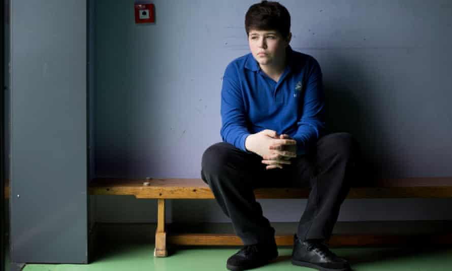 Andrew at Millgate school