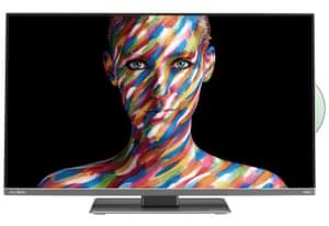 A flatscreen TV