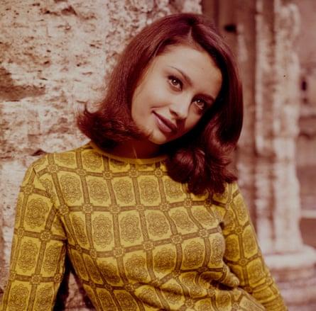 Raffella Carrà in the 1960s.