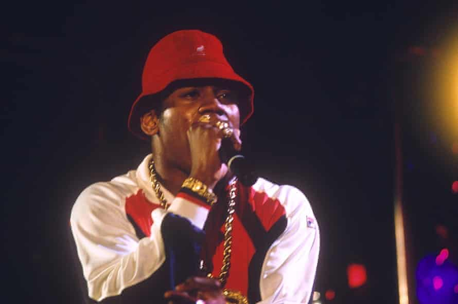 LL Cool J rocking a Kangol in 1986.