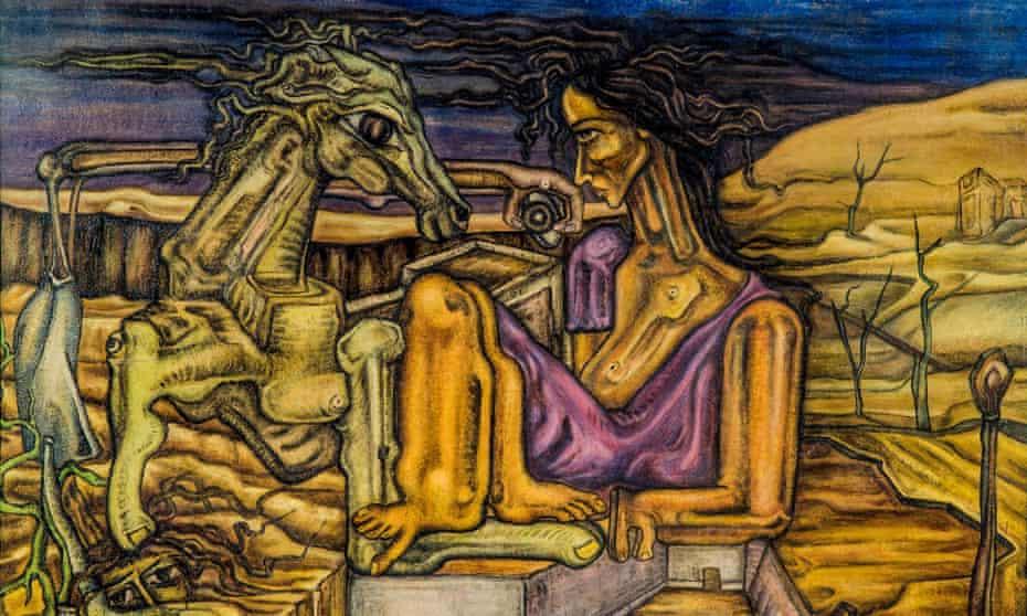 Nude,  Fouad Kamel, 1950