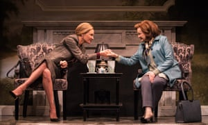 Uma Thurman and Blair Brown in The Parisian Woman