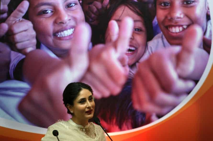 Kareena Kapoor at a Unicef launch