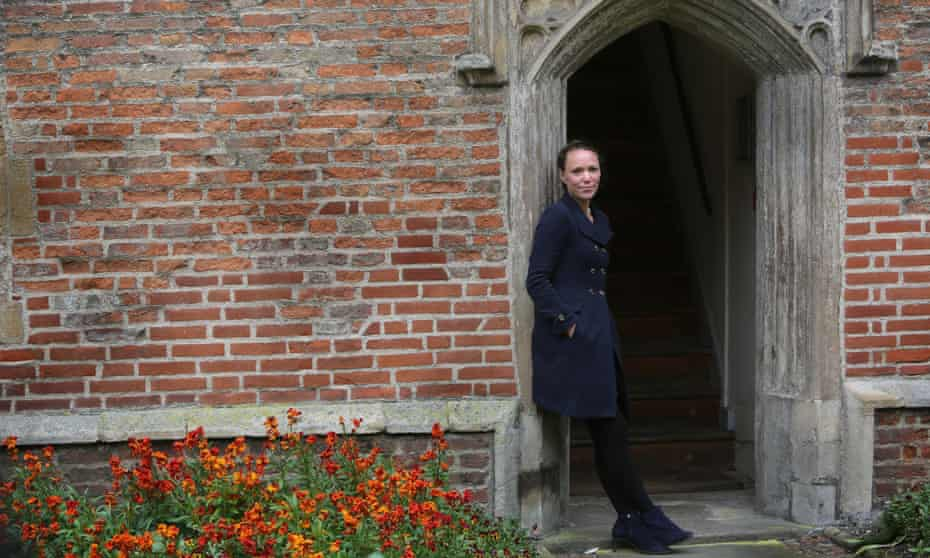 Critchlow at Magdalene College, Cambridge, where she is a fellow.
