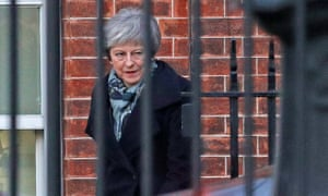 Theresa May leaving 10 Downing Street for Brussels: the obsession with Brexit is affecting major areas of public policy.