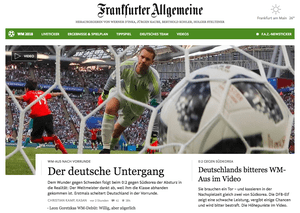 Frankfurter website