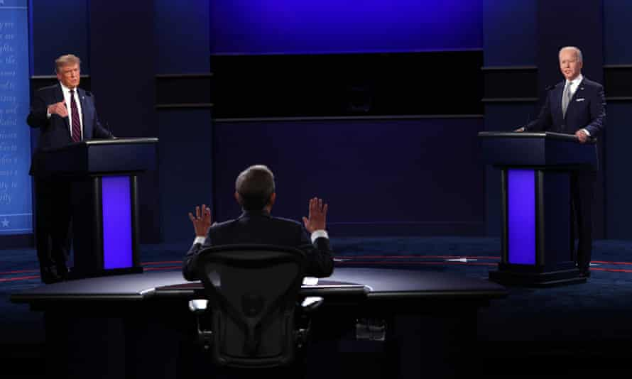 Moderator Chris Wallace struggles to referee the first presidential debate in Cleveland.