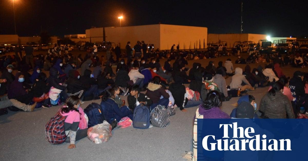 Mexico police intercept 652 Central American migrants in three cargo trucks