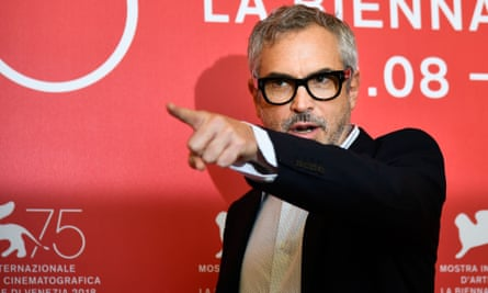 Alfonso Cuaron during a photocall for his Netflix film Roma