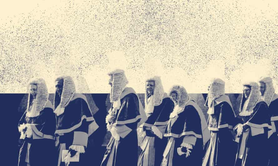 Judges process to the Palace of Westminster
