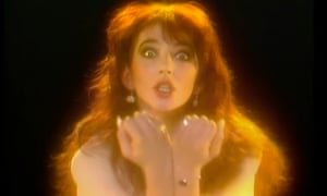 'Its keen ear for adolescent angst is part of what makes it so special' ... Kate Bush in the video for Wuthering Heights.
