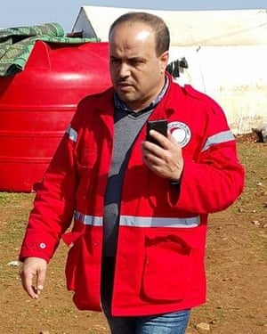 Omar Barakat, Aleppo director for the Syrian Red Crescent
