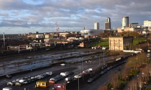 The site of the proposed HS2 Curzon Street station in Birmingham.