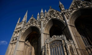 The Gothic 'West Front' of Peterborough cathedral