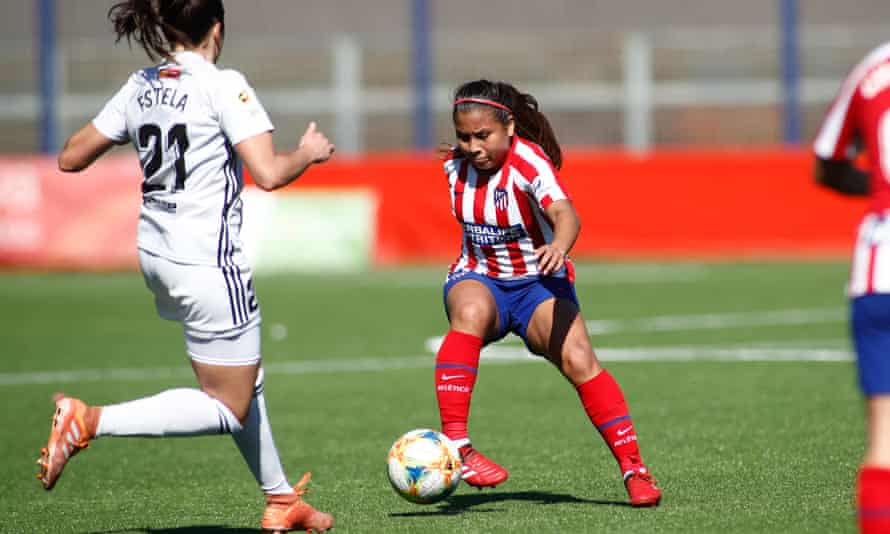 Leicy Santos has proved an excellent signing in midfield this year for Atlético Madrid.