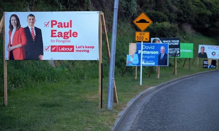 Election Hoardings, Wellington, New Zealand