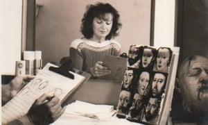 Dorka Nieradzik reflecting on her designs