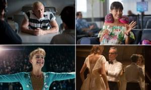 Moments of the year: Daniel Craig in Logan Lucky, Jada Pinkett-Smith in Girls Trip, Daniel Day-Lewis in Phantom Thread and Margot Robbie in I, Tonya.